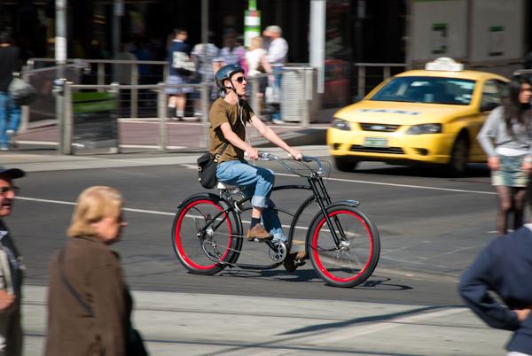 bicycle photos melbourne